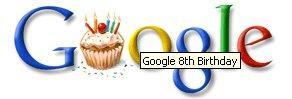 capture Logo anniversaire google