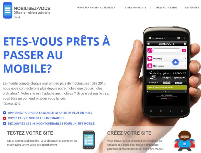 Mobilisez-vous : conseils mobile Google